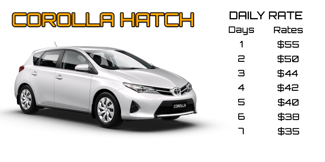 Corolla hatch rate